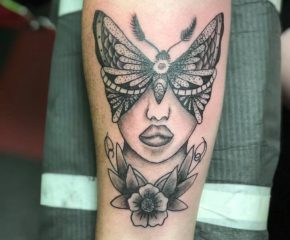 butterfly face march 21 19