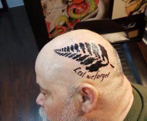 head tattoo june 20