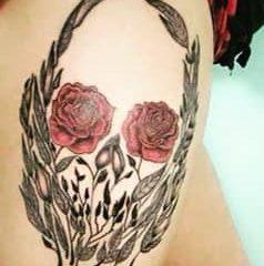 skull flower june 20