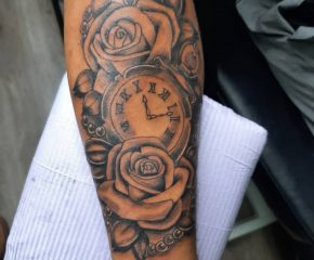 flowers clock 2 aug 4 21