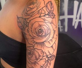 flowers outline aug 4 21